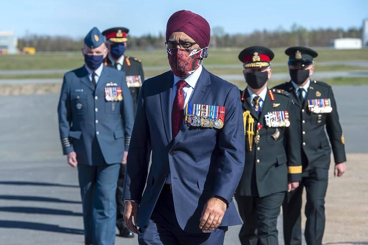 Minister of National Defence Harjit Sajjan. The Canadian Press