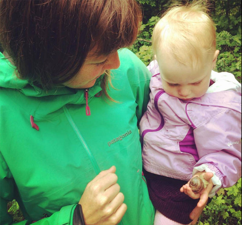 Hailey Ross first saw the invasive snail in Revelstoke in 2016. She has foraged for it multiple times. (Contributed)
