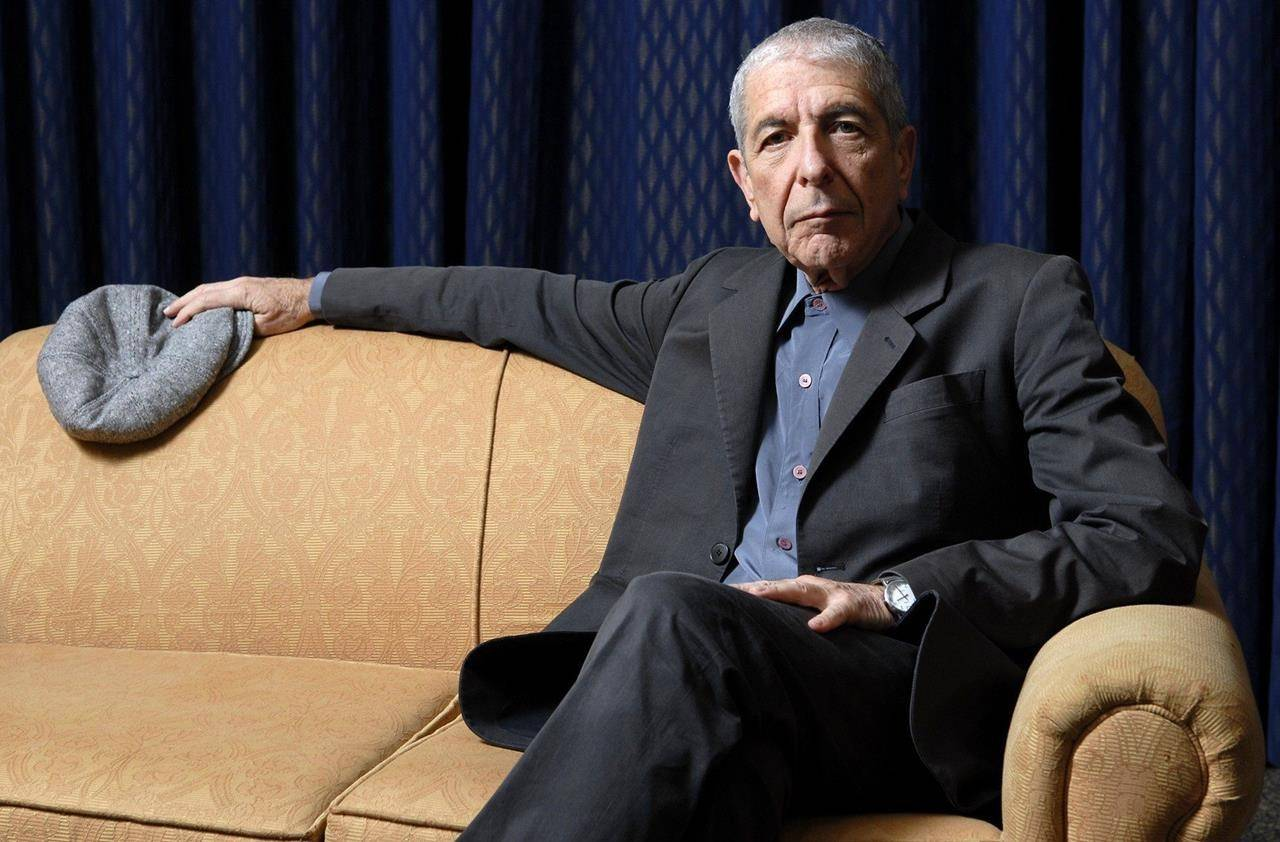 """Leonard Cohen is photographed in Toronto, Saturday, Feb. 4, 2006. Do you known when his song """"Hallelujah"""" was released? (THE CANADIAN PRESS/Aaron Harris)"""