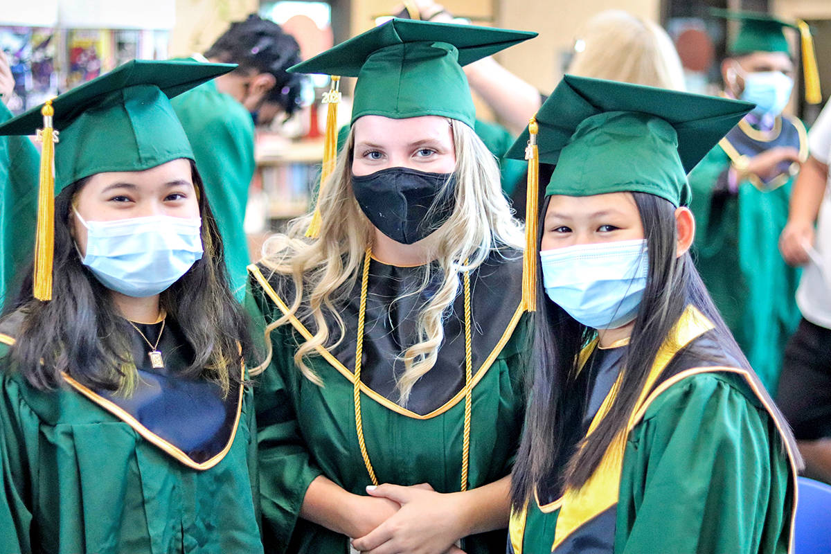Langley's Class of 2021 celebrated graduation with a series of mini-ceremonies.