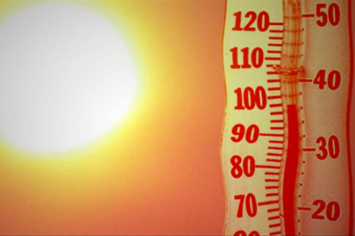 Heat wave to relent somewhat in the Fraser Valley and Lower Mainland. (VNE)