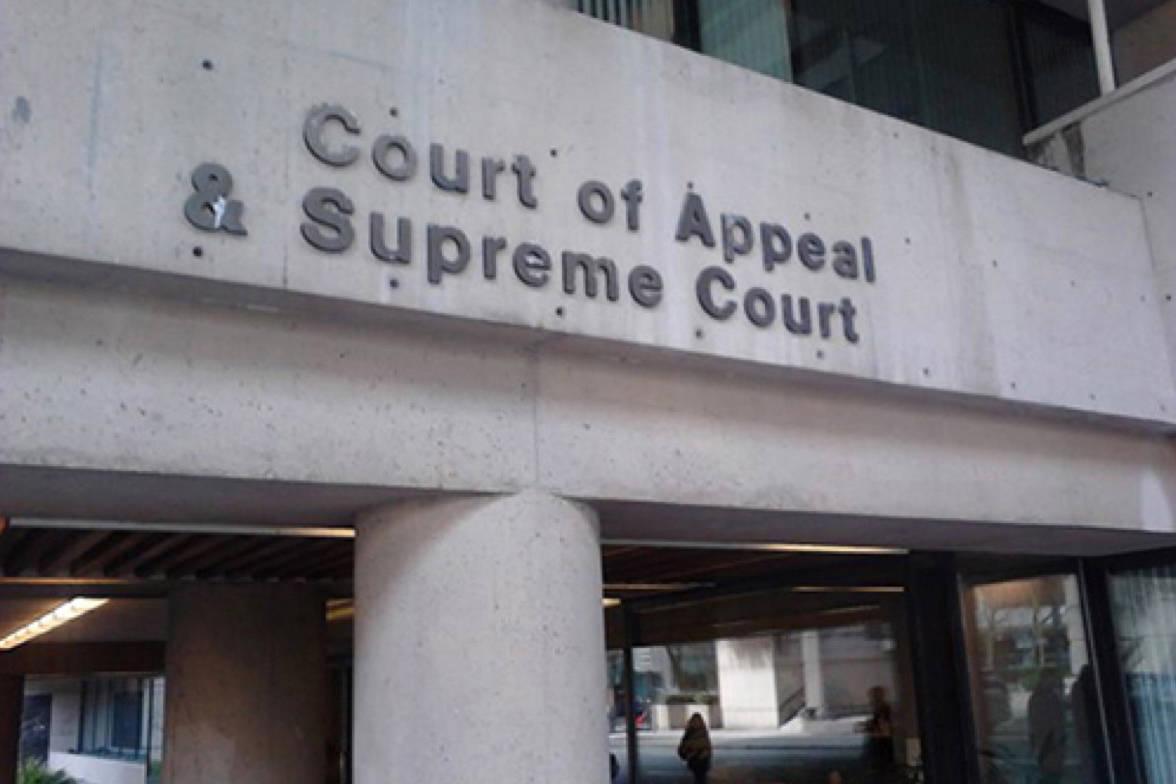 B.C. Supreme Court in Vancouver. (File photo: Tom Zytaruk)
