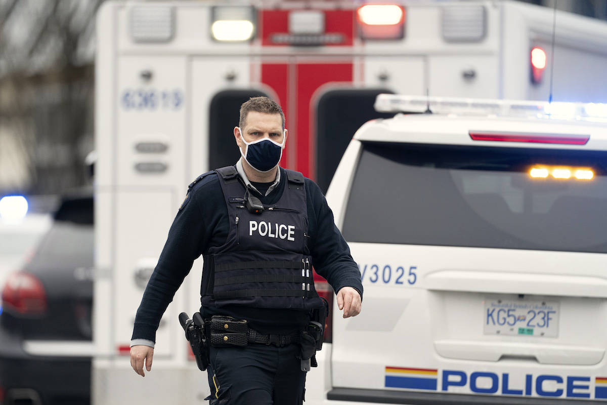 Dozens of officers have been redeployed in Vancouver to respond to those in medical distress during the heat wave. THE CANADIAN PRESS/Jonathan Hayward