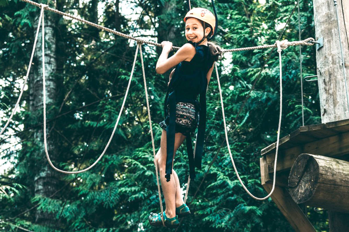 Keats Camp has a number of activities such as rope climbing. (Special to The Star)
