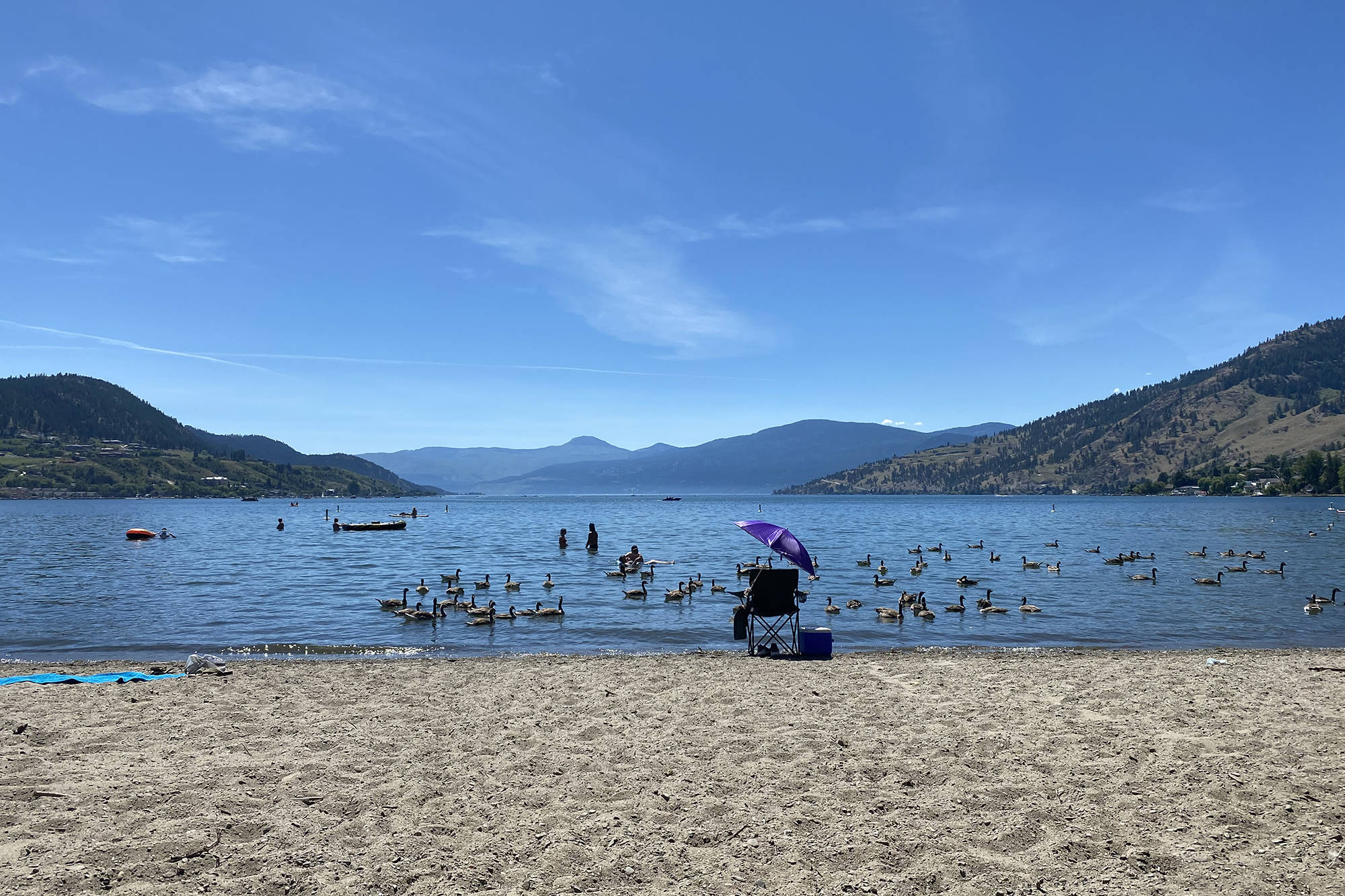 Temperatures soared into the 40s this week as the province baked in a 'heat dome.' (Caitlin Clow - Vernon Morning Star)