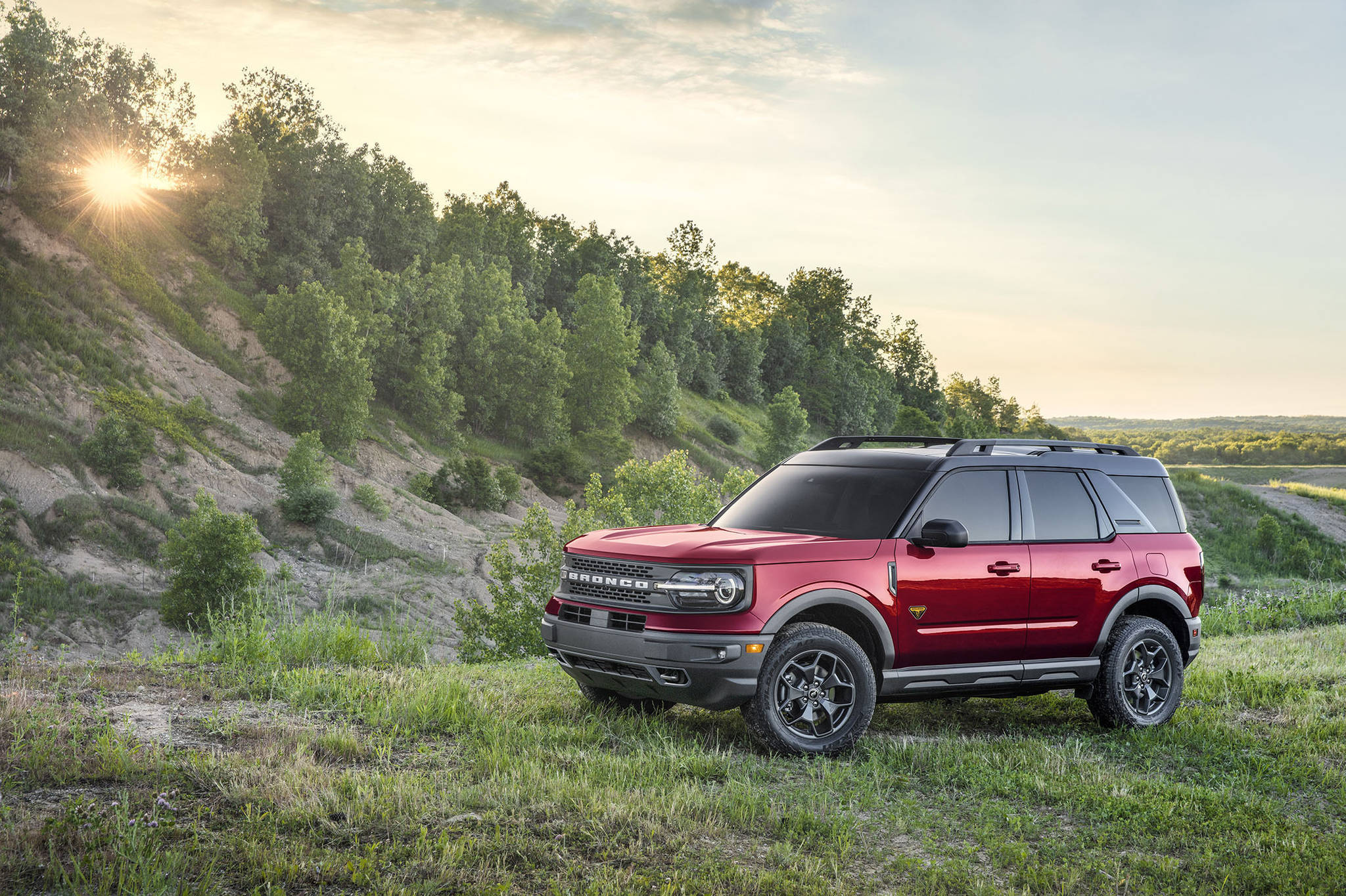All Bronco Sport models come with all-wheel-drive, although the higher-up Badlands and First Edition trims come with locking rear differentials that can direct power to either or both rear wheels when needed. PHOTO: FORD