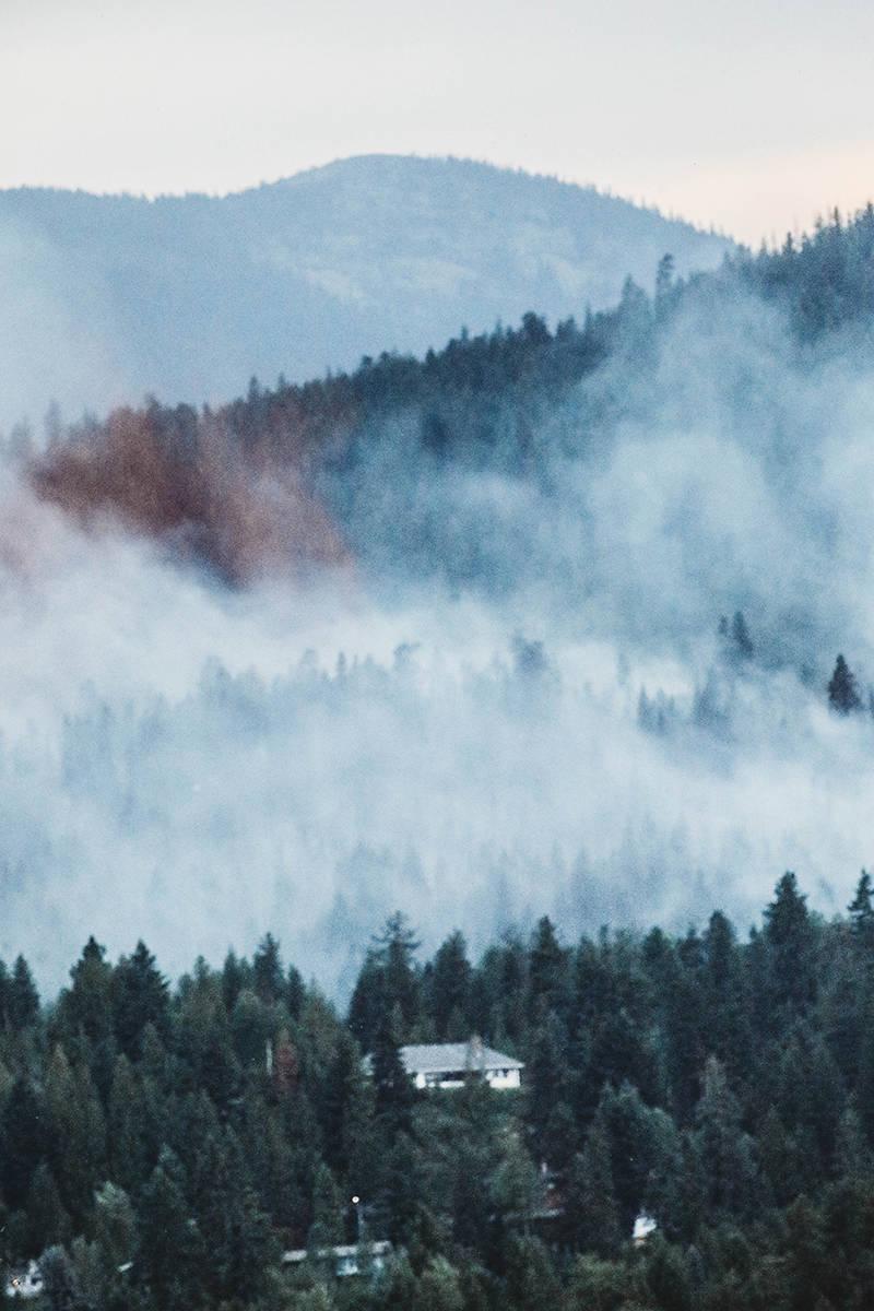 Merry Creek Fire. Photo: Jennifer Small