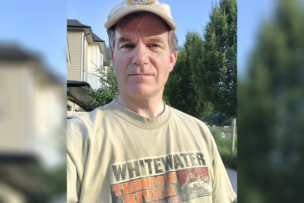 Eric Fandrich's family was forced to flee a wildfire in Lytton on June 30, 2021, which engulfed 90 per cent of the town. The Walnut Grove resident is fundraising to help revival the family business, Kumsheen Rafting. (Special to Langley Advance Times)