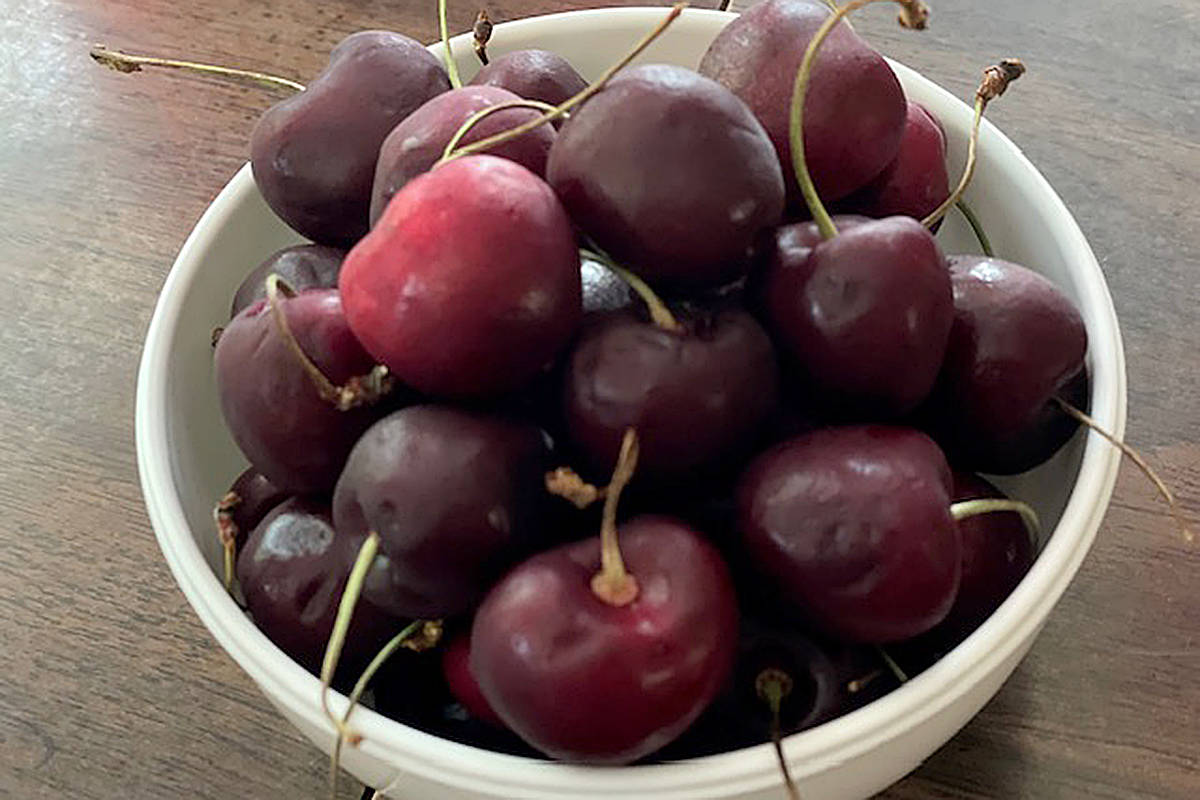 Chef Dez offers tips for selecting and baking with cherries.