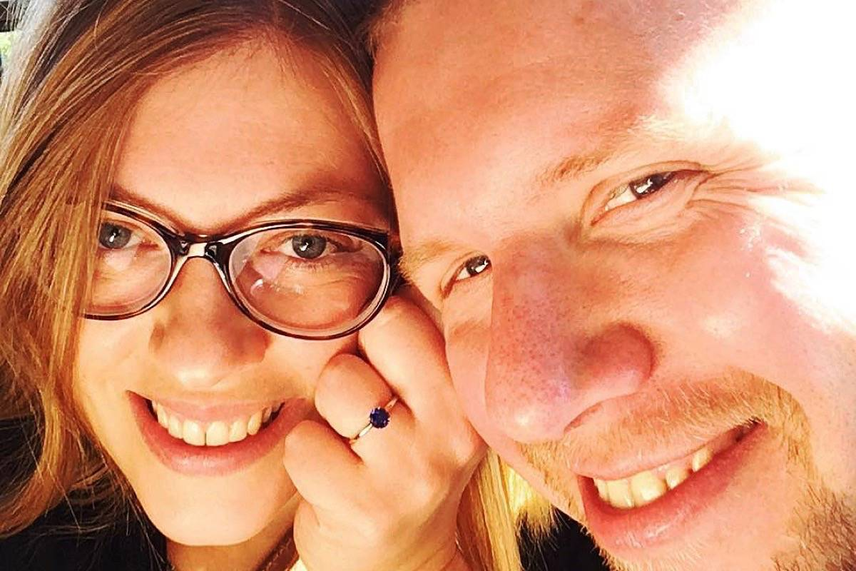 Megan Loxterkamp and Alex Nixon are expecting their first child, a girl, on Friday (July 9). (Contributed photo)