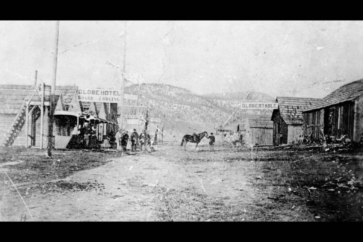 Lytton in 1863, five years after it was named in honour of the writer who gave us 'It was a dark and stormy night.' (Photo credit: Lytton Museum)