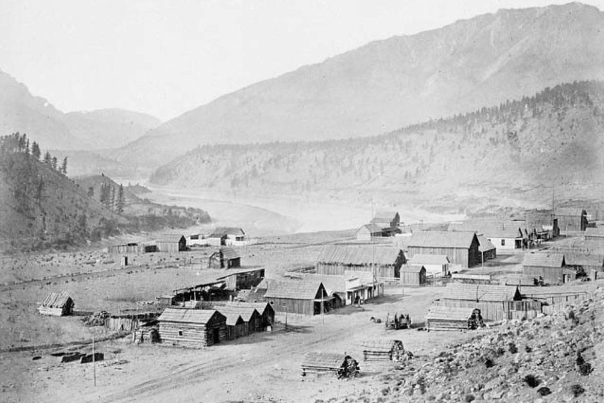 Lytton in 1867. (Photo credit: BC Archives)