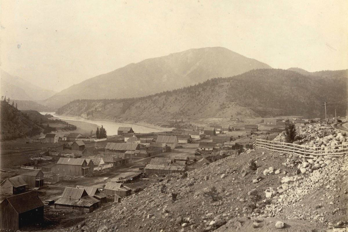 Lytton in 1889. (Photo credit: Vancouver City Archives)