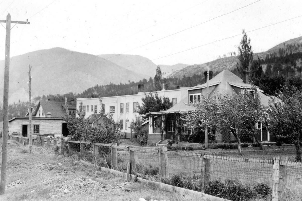 St. Bartholomew's Hospital in Lytton, 1936. (Photo credit: Vancouver City Archives)