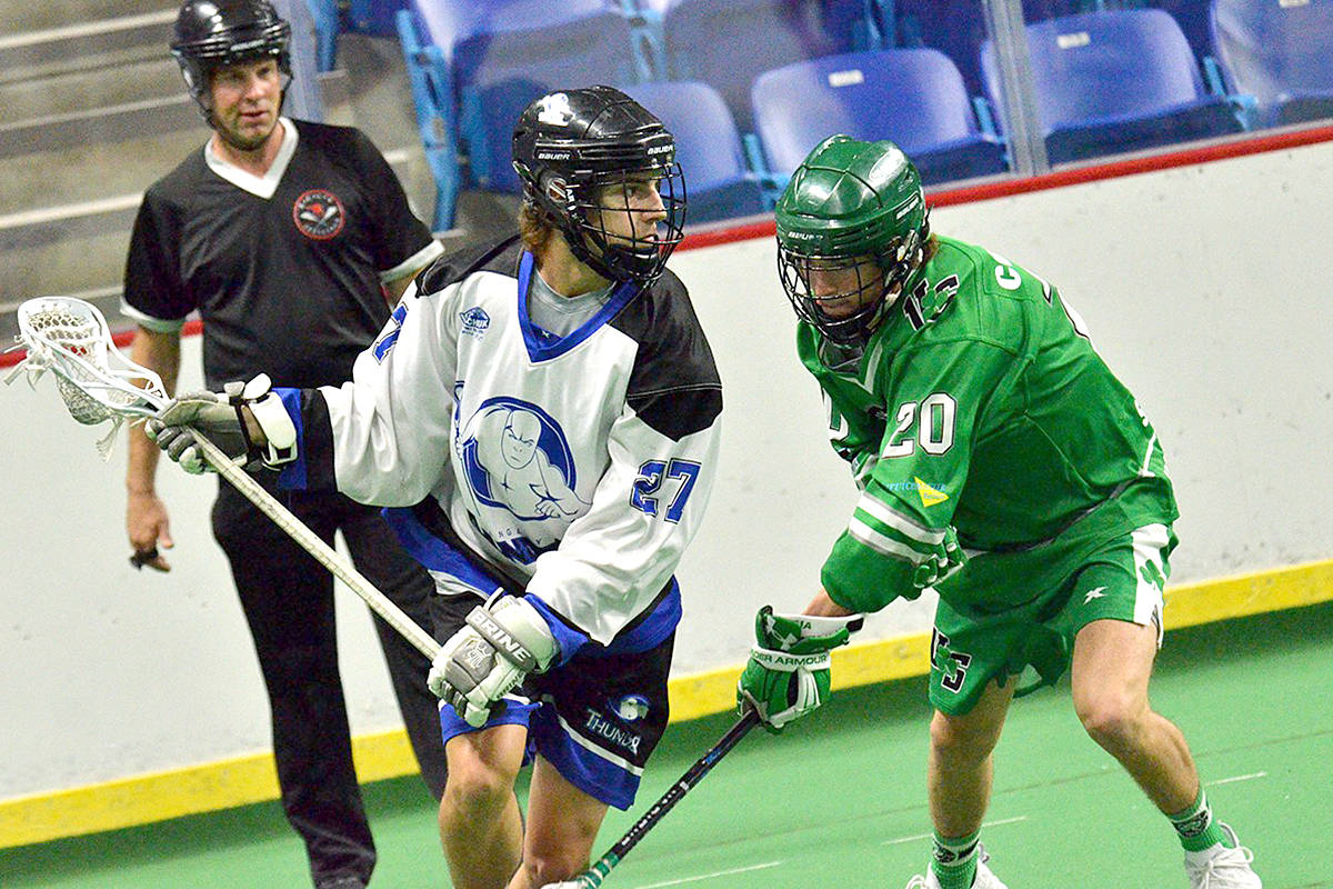 Junior A's Connor Watson in play back in 2019. (Gary Ahuja/Special to Langley Advance Times)