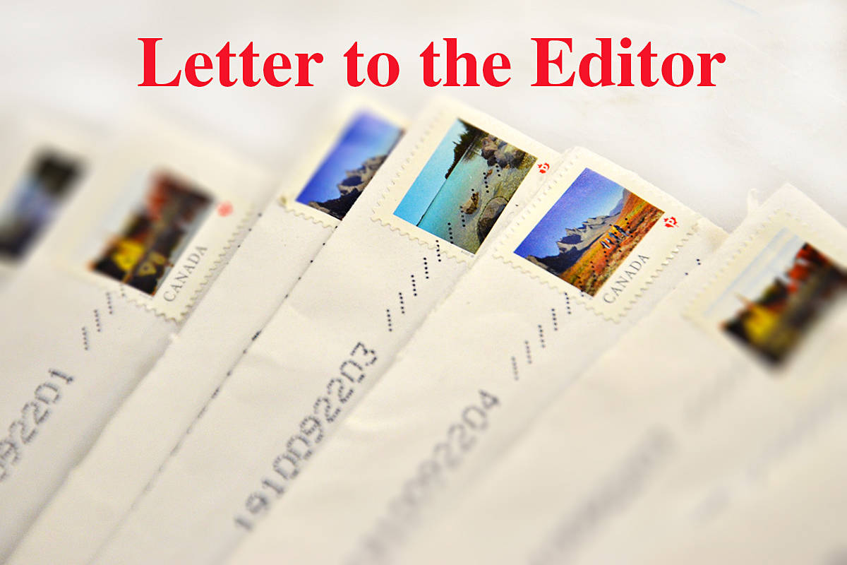 Share your opinion via email, through our website or in a posted letter. (Black Press Media files)
