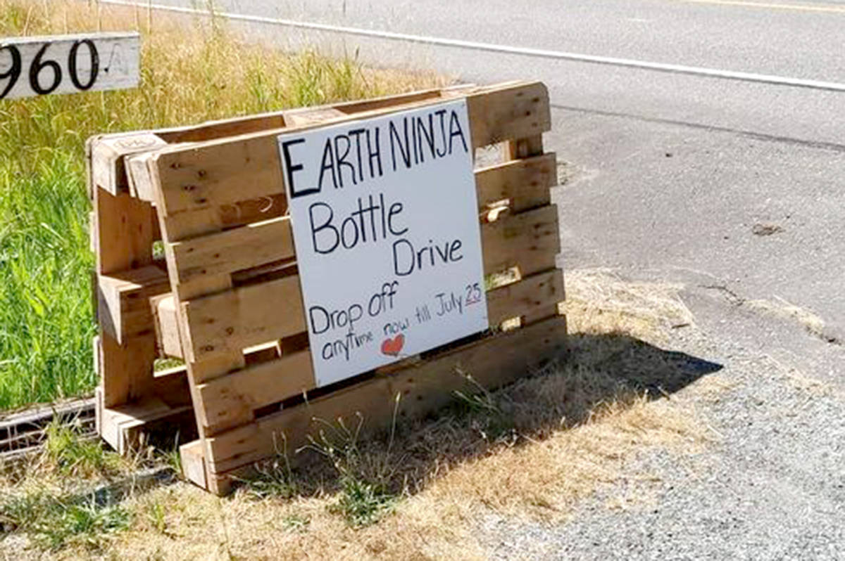 Earth Ninjas are collecting bottles from now until July 25. (Special to The Star)