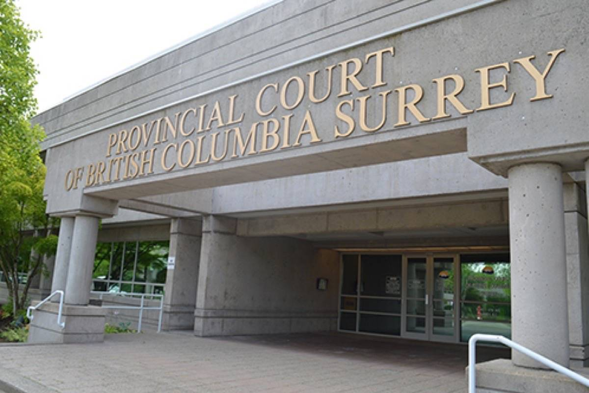 Surrey provincial courthouse. (File photo: Tom Zytaruk)