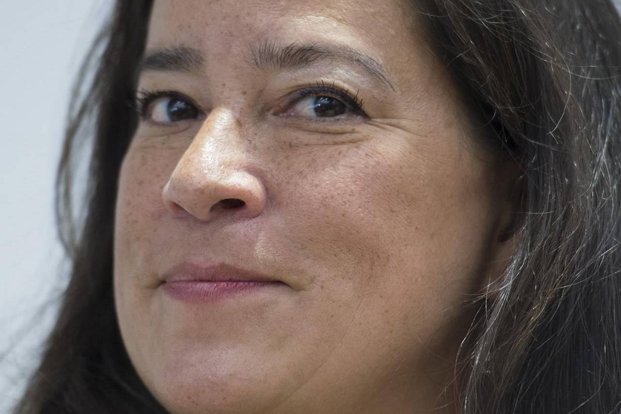 Jody Wilson Raybould attends a news conference in Vancouver, Monday, May 27, 2019. THE CANADIAN PRESS/Jonathan Hayward