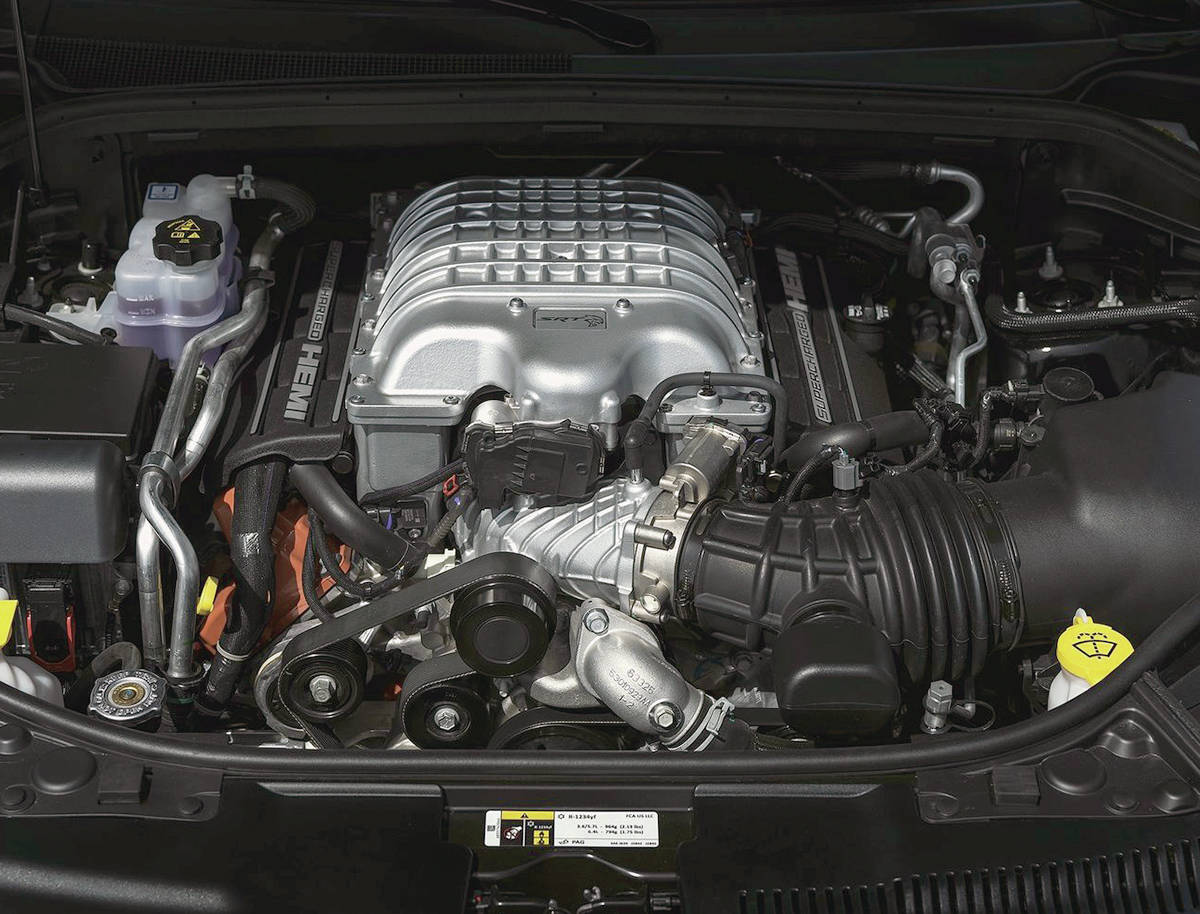The motto at Dodge, Jeep and Ram seems to be to Hellcat everything; the 700-plus horsepower supercharged 6.2-litre V-8 is available for the Ram 1500 pickup, the Jeep Grand Cherokee and the Dodge Challenger. Add the Durango to that list. PHOTO: DODGE