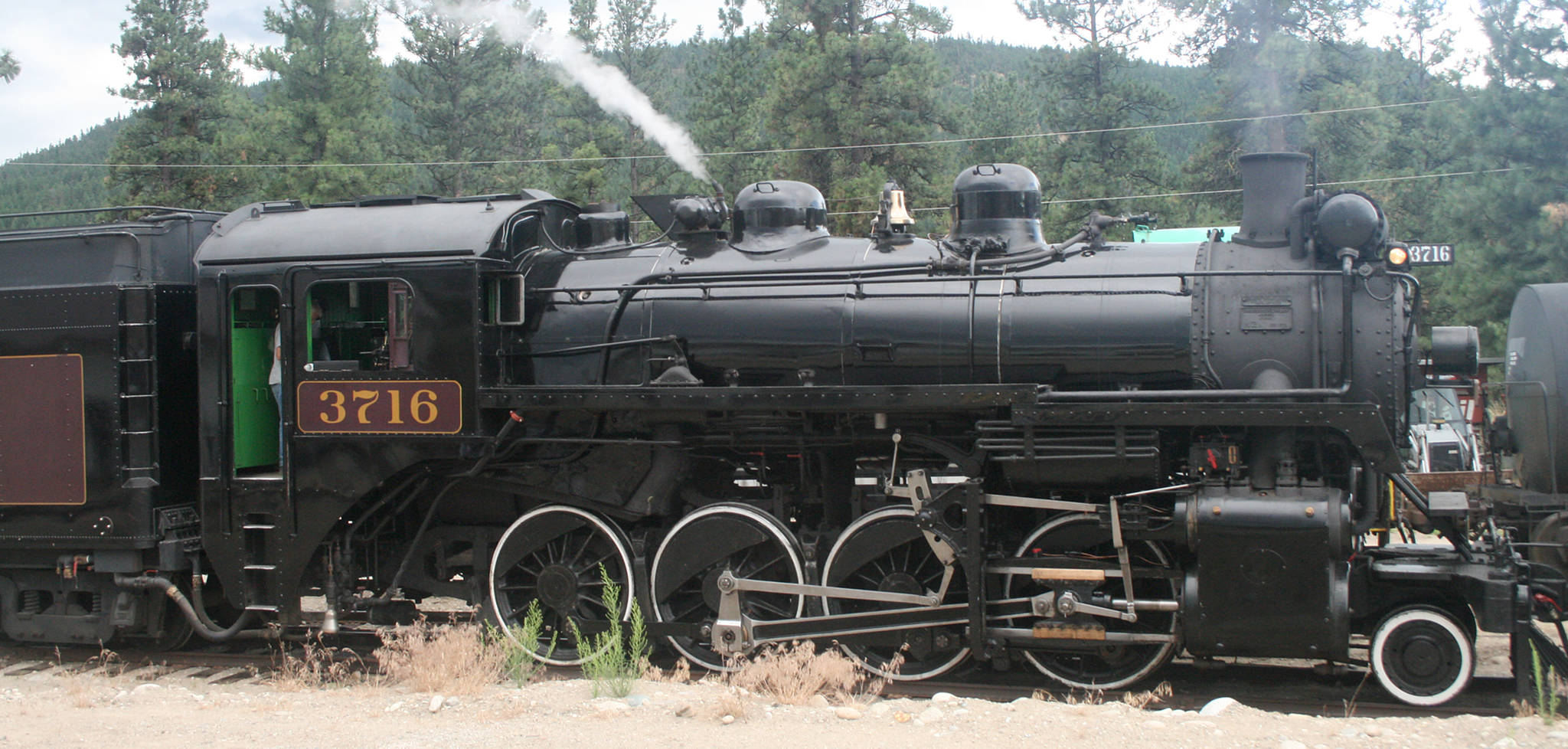Summerland's Kettle Valley Steam Railway has been operating since 1995. The tourist train operates on tracks from the historic Kettle Valley Railway, which provided passenger service to the Okanagan Valley from 1915 to 1964. (Black Press file photo)