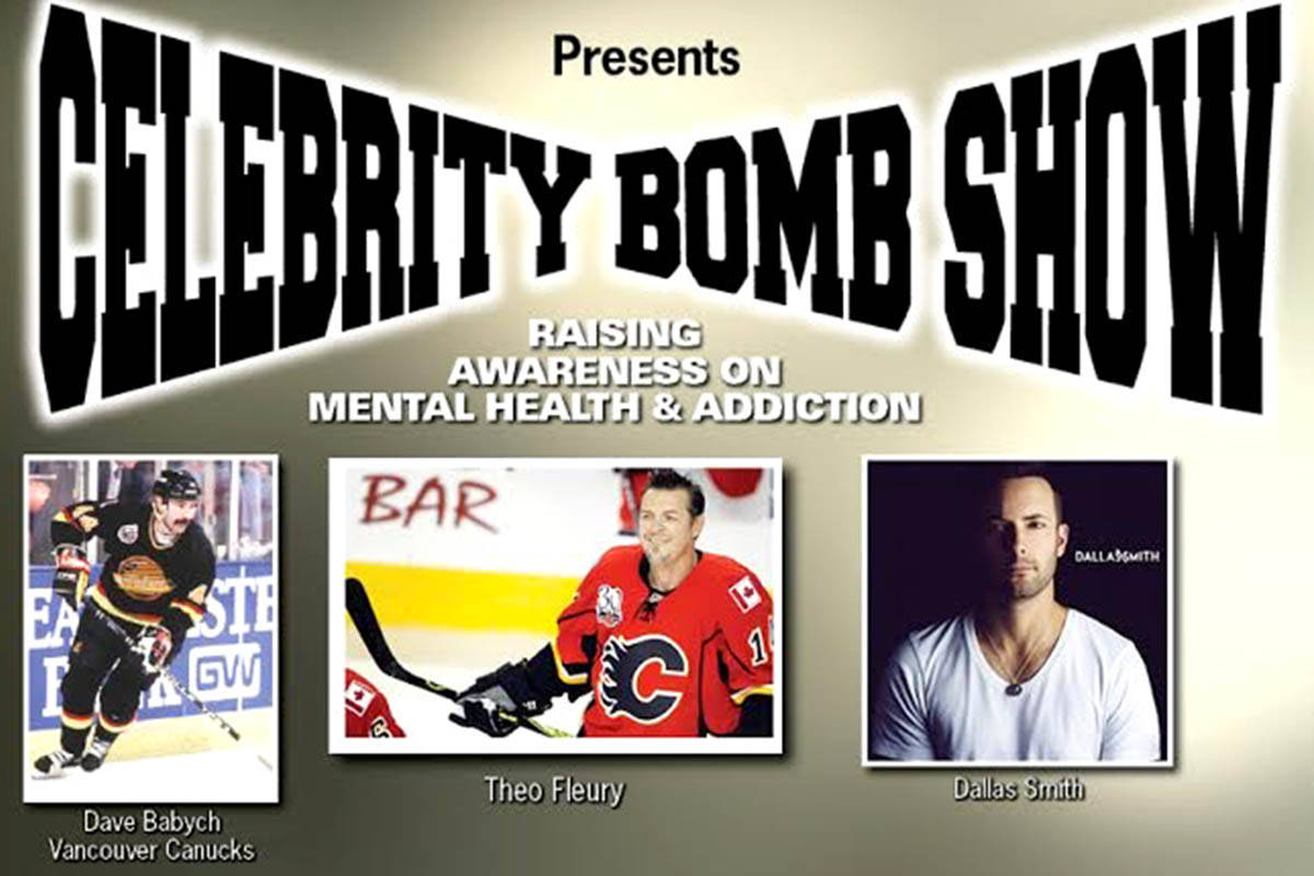 Andy Bhatti hosts a celebrity fundraiser with Dallas Smith, Theo Fleury, and former Vancouver Canucks. (Special to The Star)