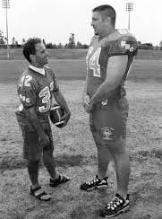 Dino Camparmo, left, was a talented athlete and later became a teacher. (Maurizio Camparmo/Special to the Langley Advance Times)