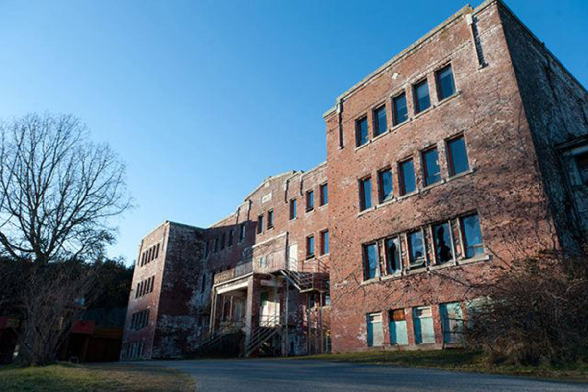 St. Michael's residential school before it was torn down in 2015. (File photo)