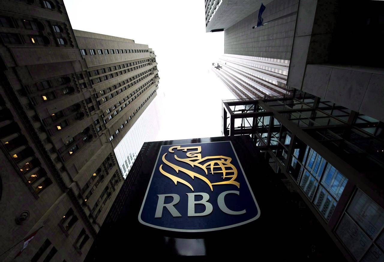 A Royal Bank of Canada sign is pictured in downtown Toronto on Dec. 2, 2011. THE CANADIAN PRESS/Nathan Denette