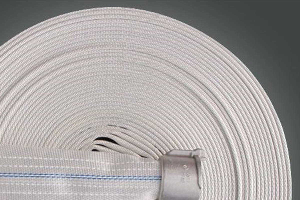 This type of hose was stolen from the Merry Creek fire site. Photo: submitted