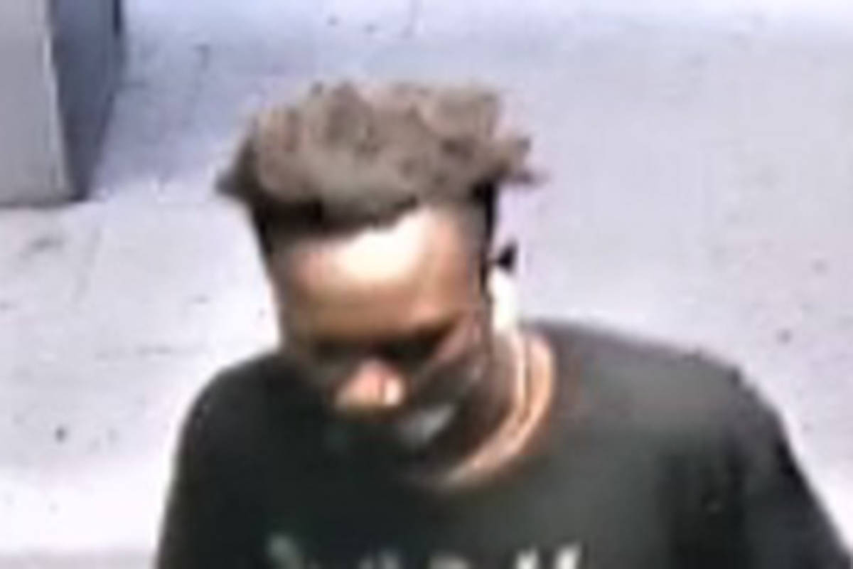 Surrey RCMP released a photo of the suspect related to a sexual assault that occurred in Guildford on July 9 at approximately 9:50 p.m. (RCMP Handout)