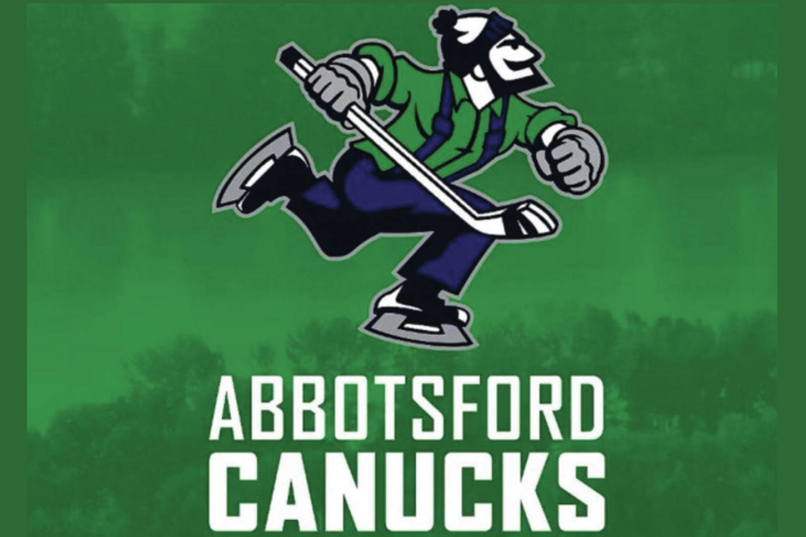 The Abbotsford Canucks are going with Johnny Canuck as the team's primary logo.