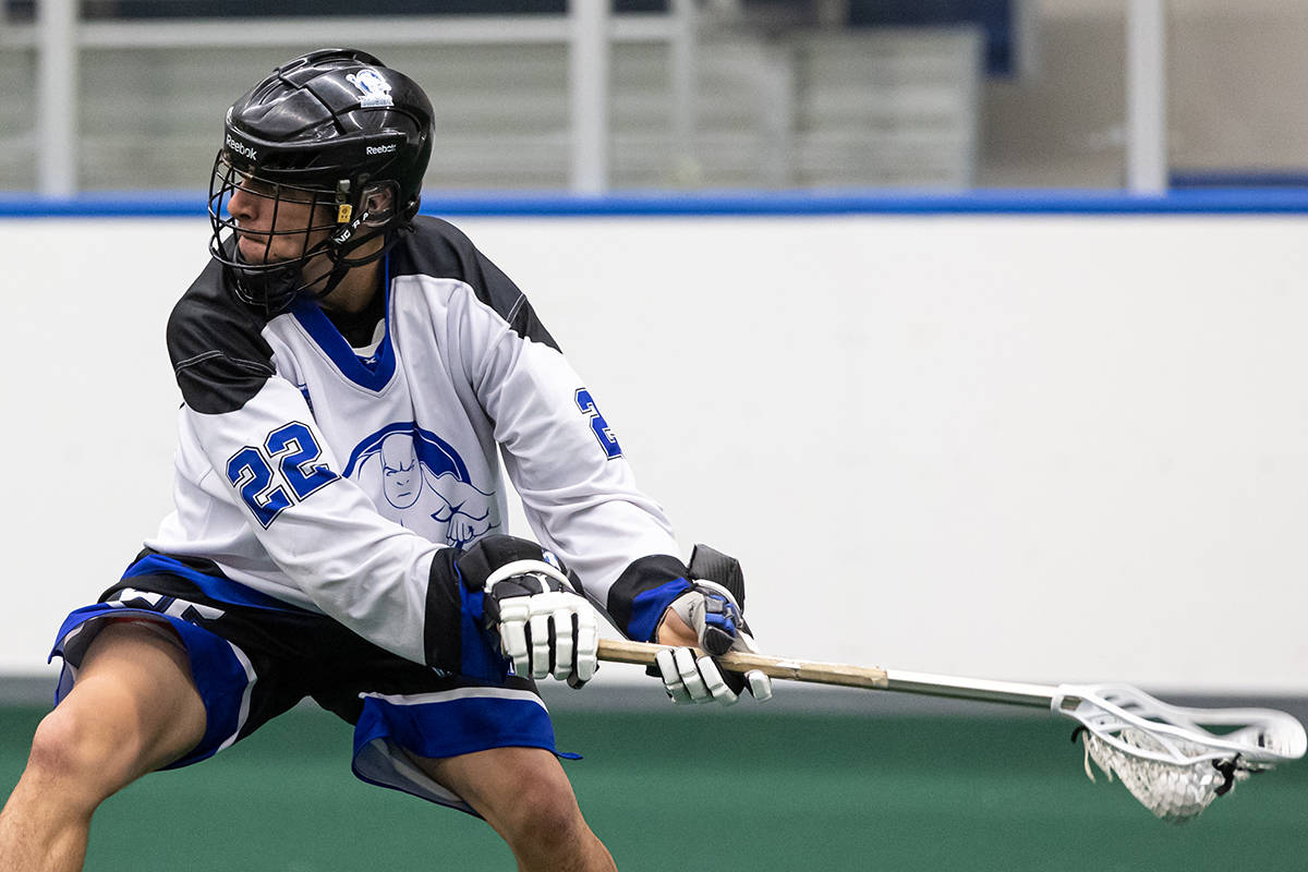 Trevayne Hunter scored two goals against the Adanacs Wednesday but couldn't lift the Thunder to a win.(Damon James/Langley Events Centre files)