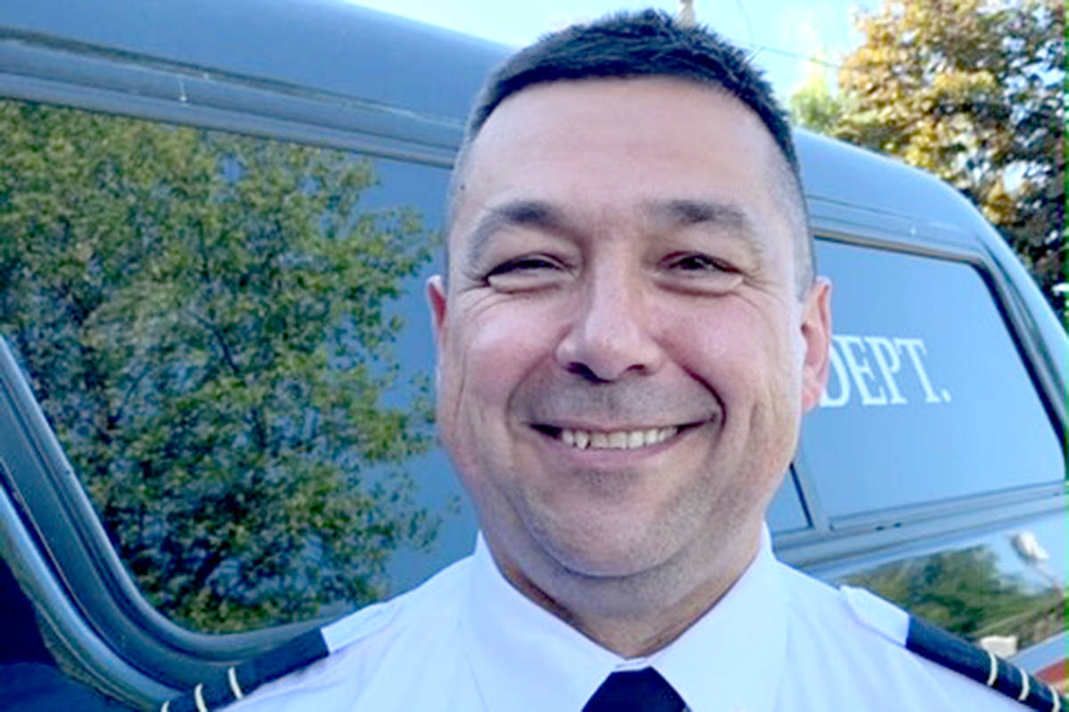 Andy Hewitson, assistant fire chief with the Township of Langley. (Special to Langley Advance Times)