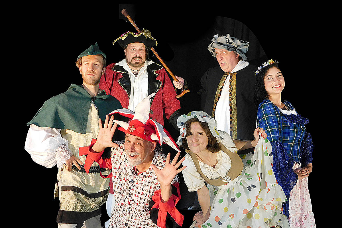 A new theatre group launches with the production of <em>The Silly Adventures of Robin Hood</em> at the Fraser Valley Cidery this weekend in Langley. (Geoff King/Special to Langley Advance Times)