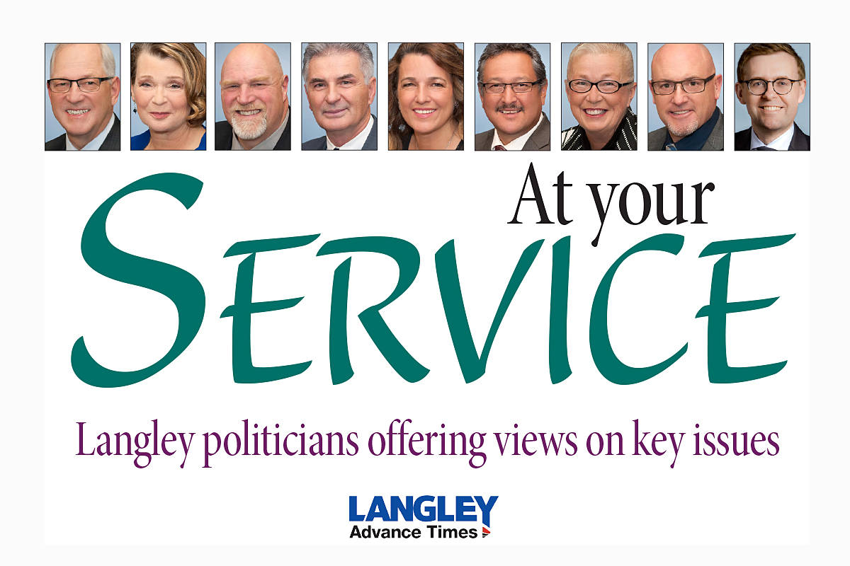 Do you have a question you'd like to see put to the mayor and council of Langley Township? Email your idea to editor@langleyadvancetimes.com.