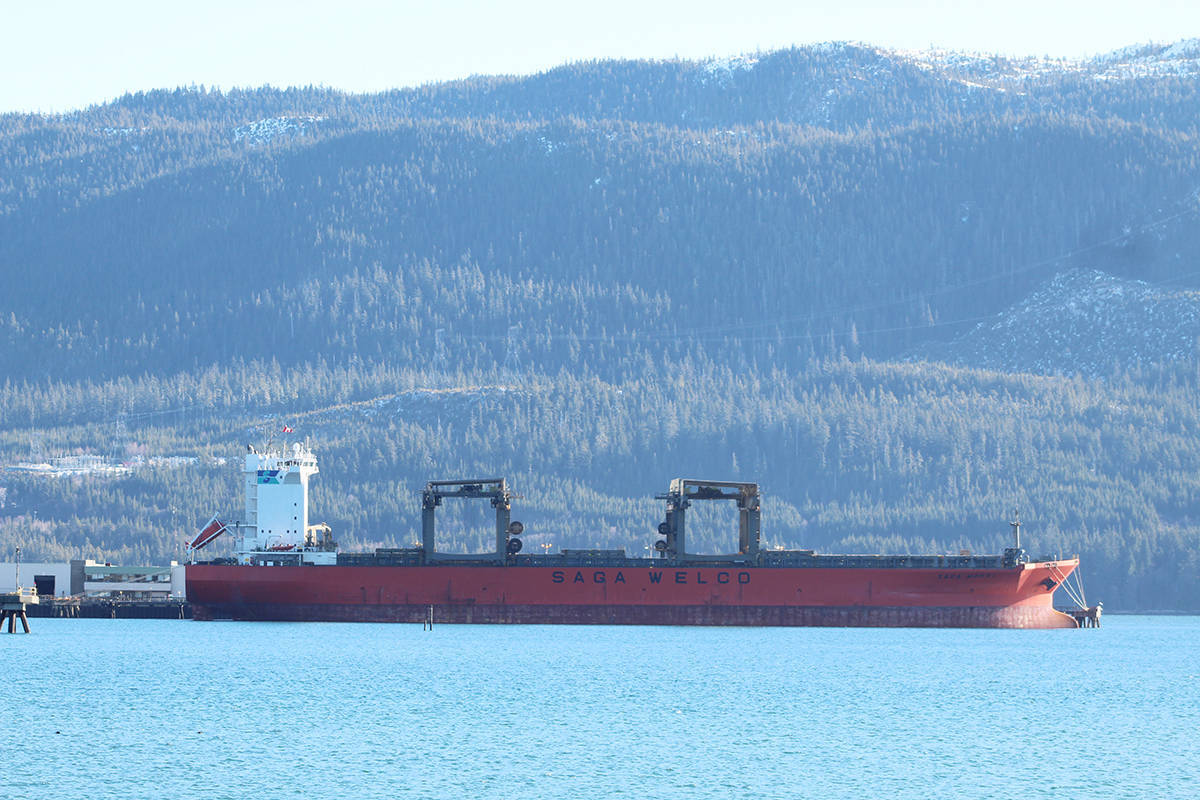 Two ships collided in Vancouver Harbour in 2019 after one lost power, but no one was injured and no pollutants were released. (Saga Monal)