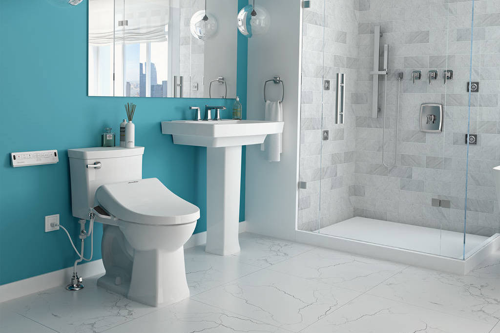 The American Standard SpaLet is just one of many options to consider when purchasing a new toilet.