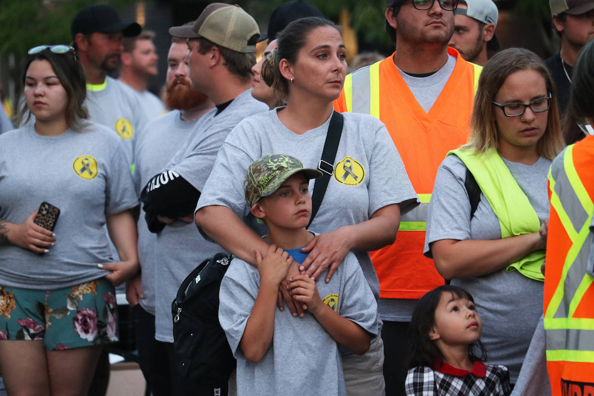 Hundreds of people of all ages and backgrounds were in attendence. (Aaron Hemens/Capital News)