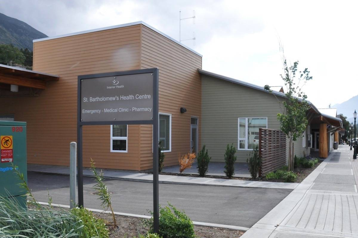 St. Bartholomew's Health Centre, Lytton, in 2009. (Photo credit: <em>Journal</em> files)