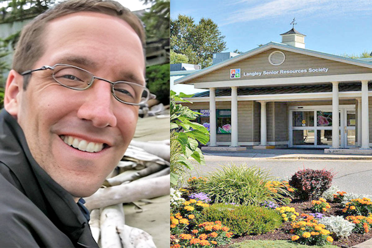 Anthony Kupferschmidt will assume the position of executive director of Langley Senior Resources Society, effective August 23. (Special to Langley Advance Times)