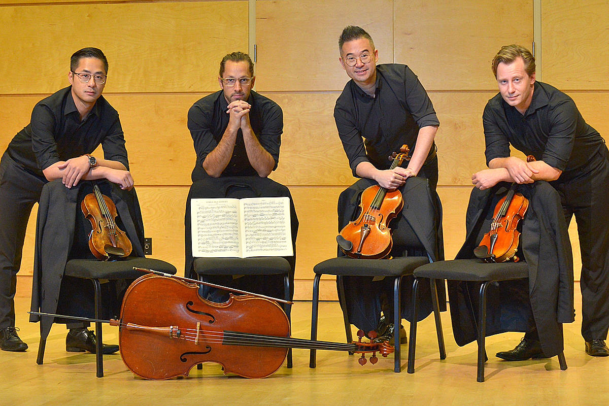 A mini summer series kicks off this weekend at Langley Community Music School featuring West Coast Chamber Music, followed by a second live concert on July 25 featuring the school's own Rose Gellert String Quartet. (Special to Langley Advance Times)
