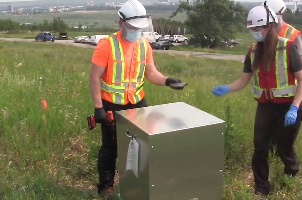 Researchers at the University of Calgary say a pilot project testing the city's water is providing a valuable tool in the fight against COVID-19. (Canadian Press screenshot)