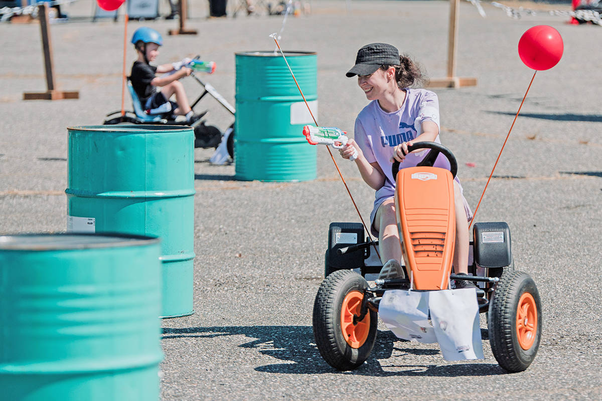 Day 1 of SouthRidge Speedway go kart fundraiser in Aldergrove. (Shannon Grochowski/special to Langley Advance Times)