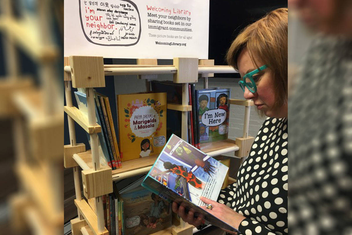 The Welcoming Library is a collection of acclaimed children's picture books featuring new arrival and new Canadian families. (Langley Literacy Network/Special to Langley Advance Times)