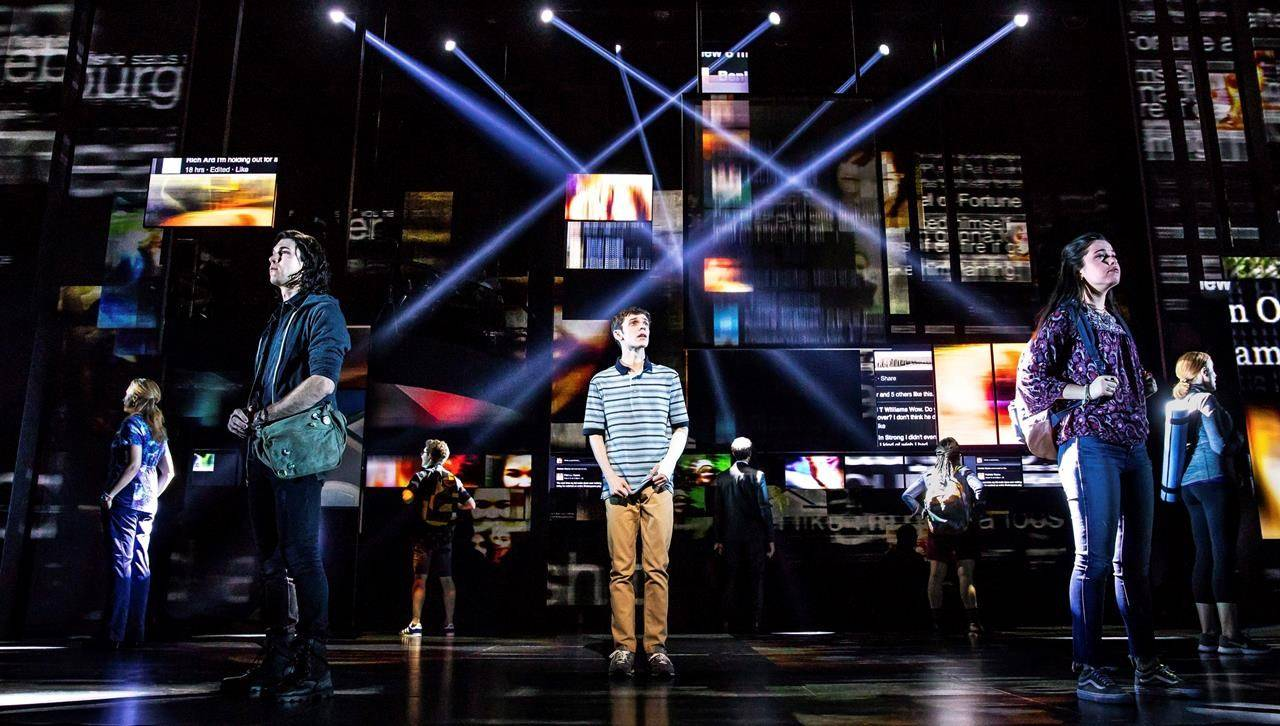 """Stephen Chbosky's """"Dear Evan Hansen,"""" based on the smash stage musical, will be the opening night gala presentation at this year's Toronto International Film Festival. THE CANADIAN PRESS/Matthew Murphy"""