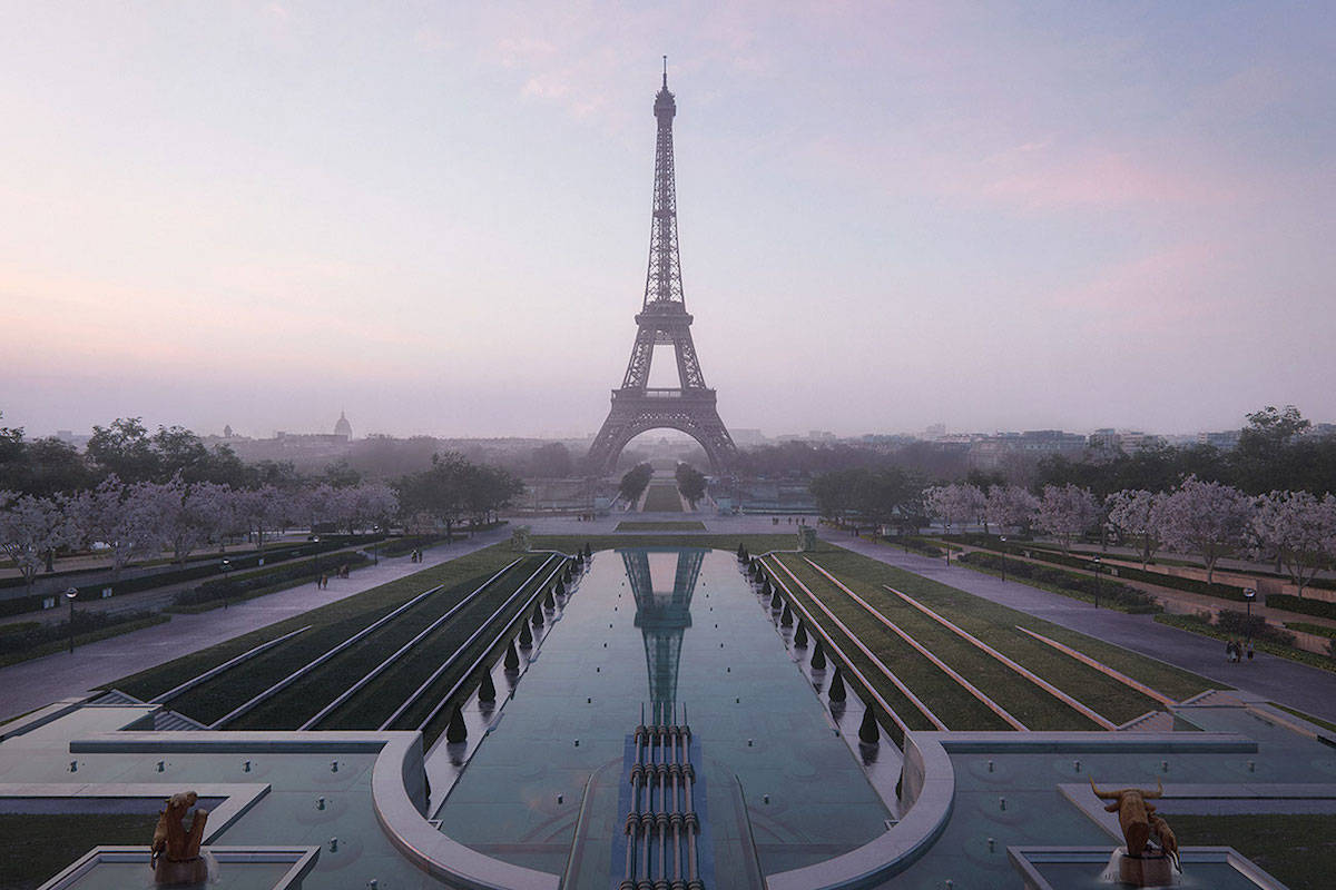 Visitors now need a special COVID pass to ride up the Eiffel Tower or visit French museums or movie theatres. (Black Press Media files)
