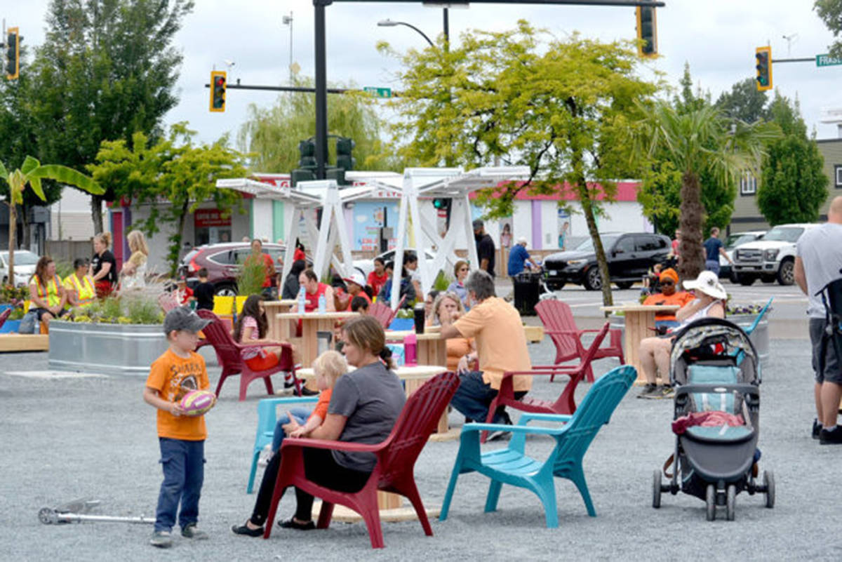Aldergrove plaza – the former site of the Alder Inn – will be the location for Tastes of Our Town. (Aldergrove Star files)