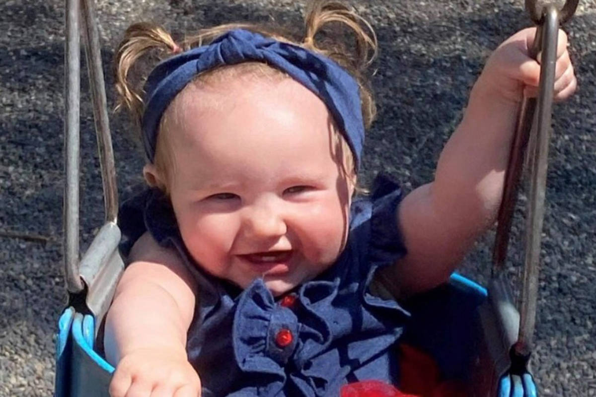 RosieMay Fitchett was attacked by a dog at a beach in Nakusp on July 15. (Photo via GoFundMe)