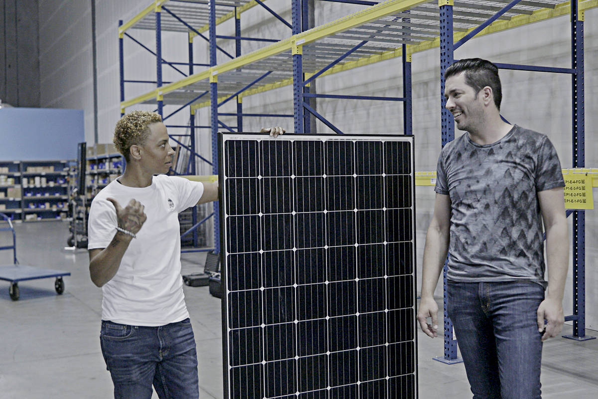 Jonathan Scott explored the obstacles in bringing solar energy to every household. (PBS/Special to THE NEWS)